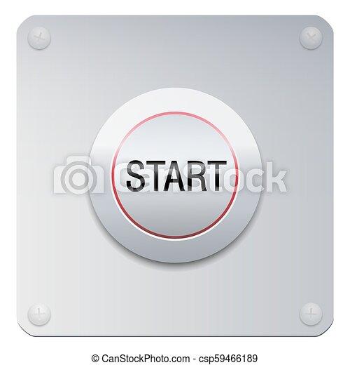 Start Button Power On Starter