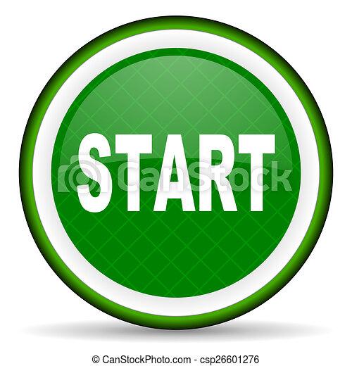 start green icon - csp26601276