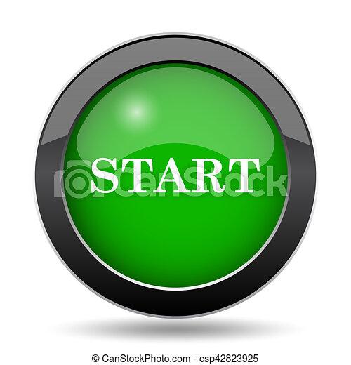 Start icon - csp42823925