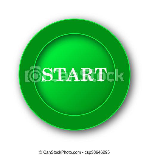 Start icon - csp38646295