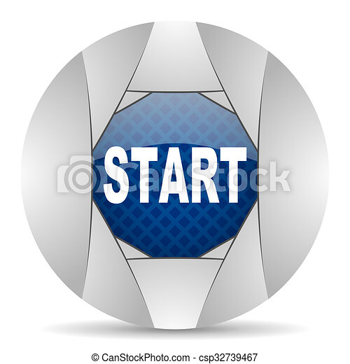 start icon - csp32739467