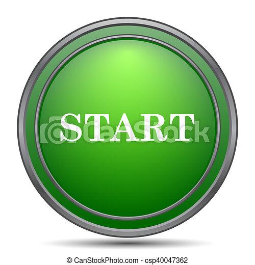 Start icon - csp40047362