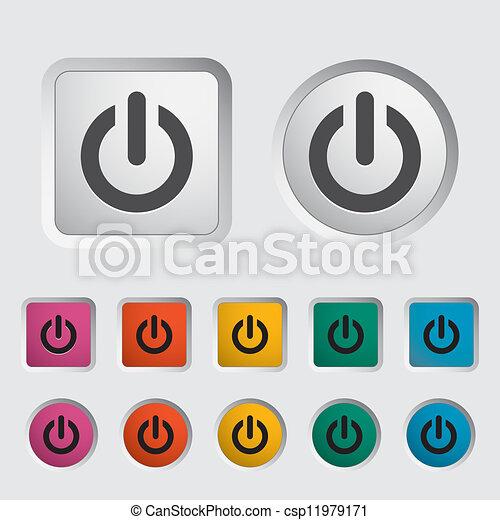 Start icon. - csp11979171