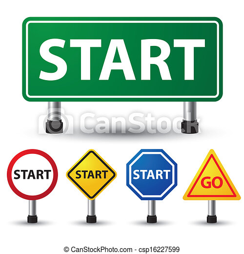 vector illustration of start sign on white background eps vectors rh canstockphoto com star clipart image star clipart image