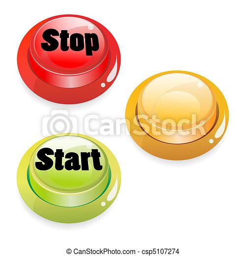 start stop push button - csp5107274