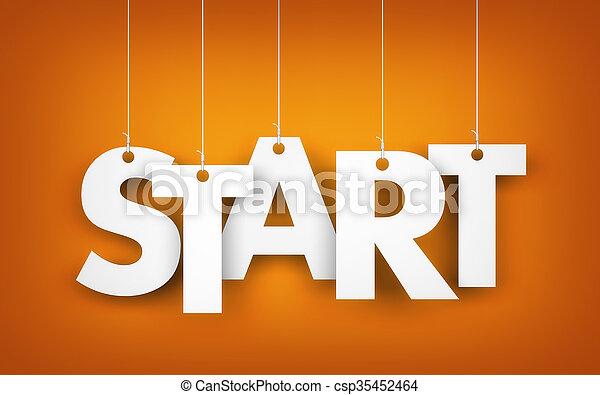 Start - word - csp35452464