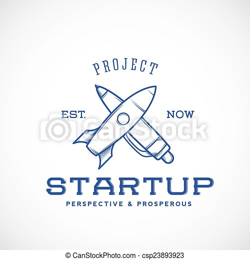 Startup Abstract Vector Logo Template - csp23893923