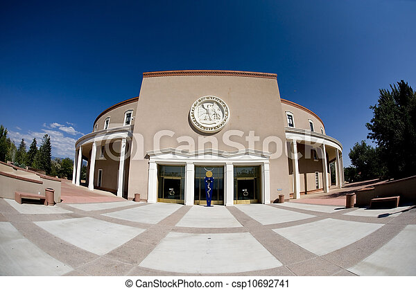 State Capital of New Mexico. - csp10692741