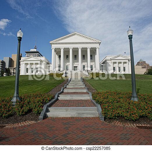 State Capital of Virginia. - csp22257085