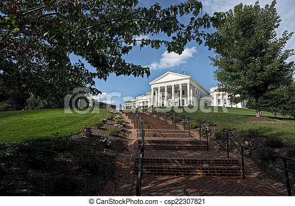State Capital of Virginia. - csp22307821