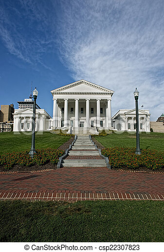 State Capital of Virginia. - csp22307823