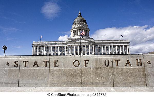 State Captital Utah. - csp9344772