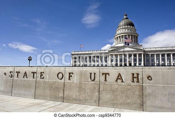 State Captital Utah. - csp9344770