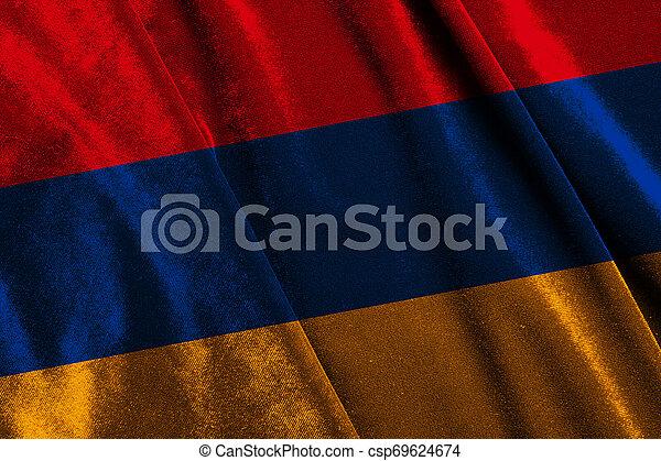 State flag of Armenia - csp69624674