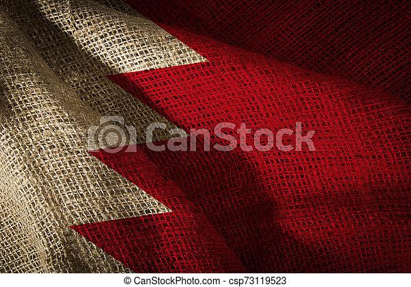 State flag of Bahrain - csp73119523