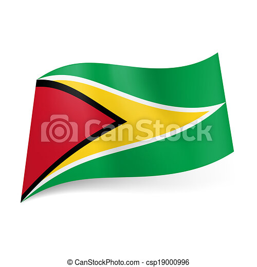 State flag of Guyana - csp19000996