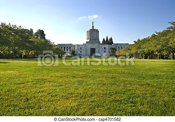 State of Oregon Capitol Building 2 - csp4701582