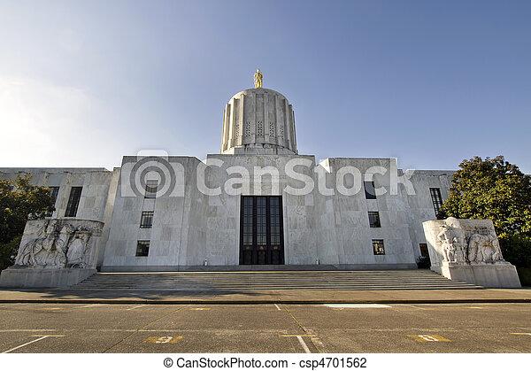 State of Oregon Capitol Building - csp4701562