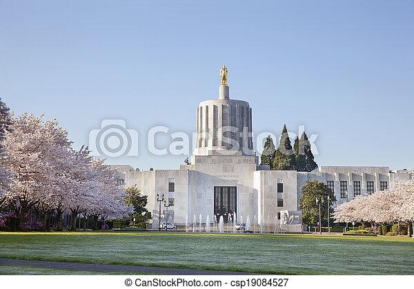 State of Oregon Capitol - csp19084527