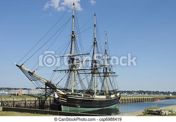 statek, historyczny - csp6988419