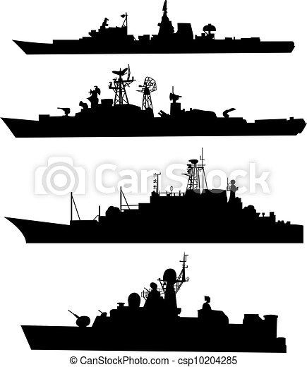 statek, sylwetka - csp10204285