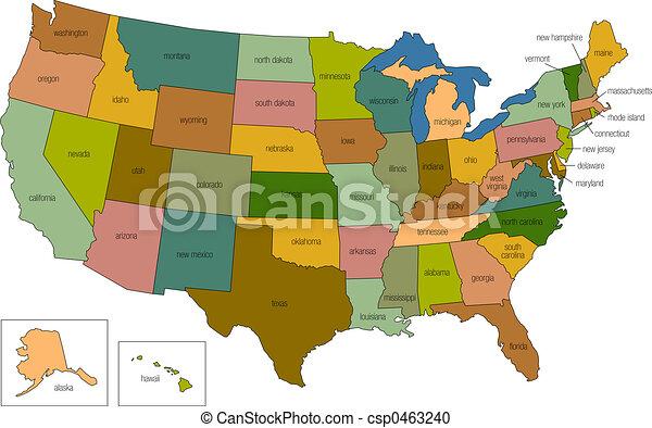 staten, verenigd, 01 - csp0463240