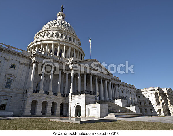 staten, verenigd, capitool - csp3772810