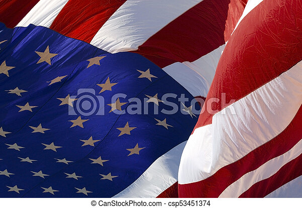 stati, bandiera, unito, america - csp53451374