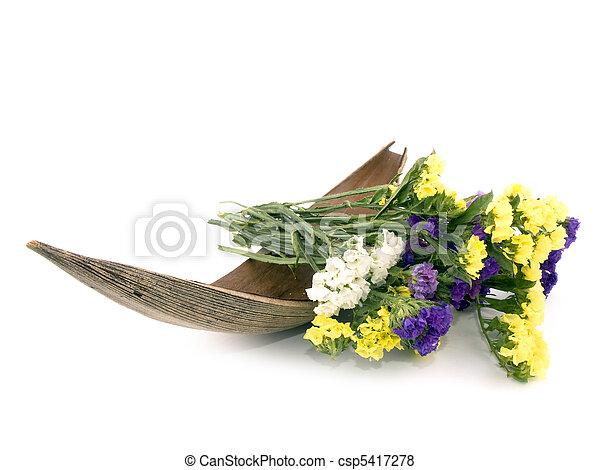 Statice flowers limonium sinuatum romantic bouquet os statice statice flowers limonium sinuatum csp5417278 mightylinksfo