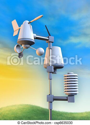 station météorologique - csp6635030