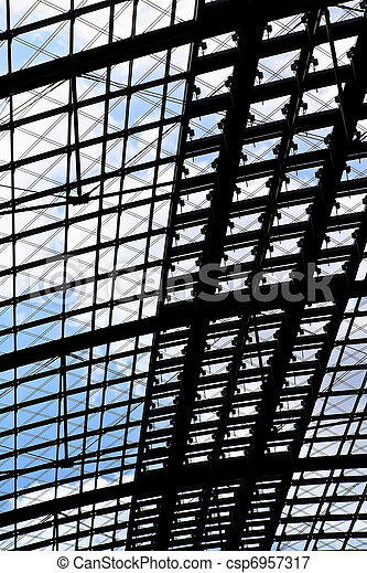 Station roof - csp6957317