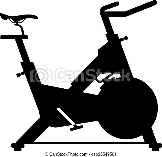 Stationary bicycle - csp35549501