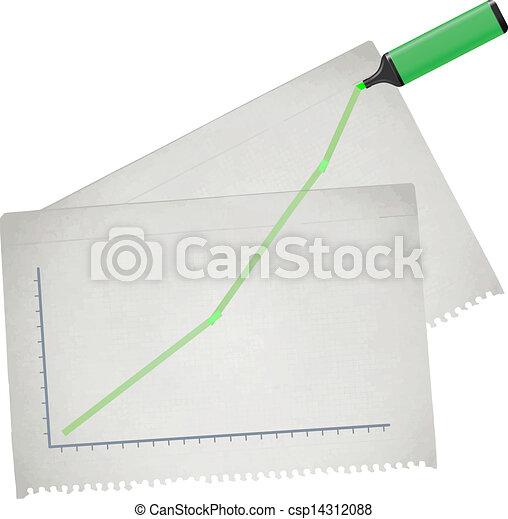 statistics business - csp14312088