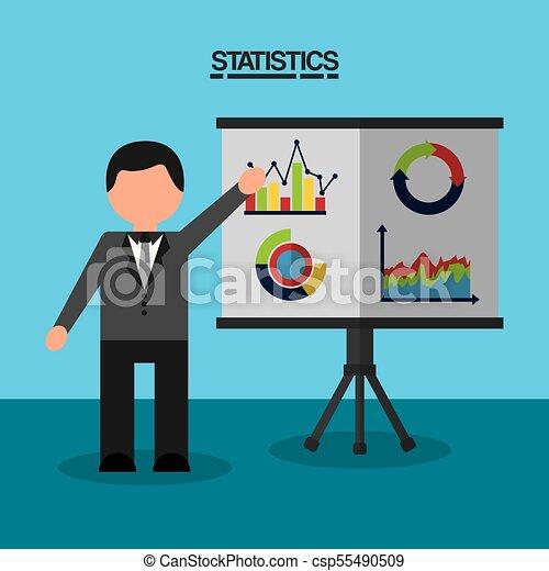 statistics data business report - csp55490509