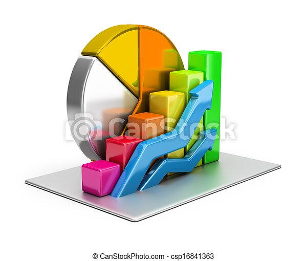 statistiques, concept - csp16841363