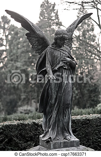 sculpture ange