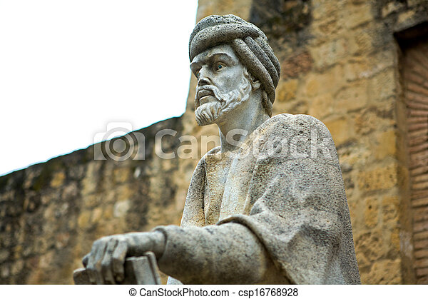 Statue of Averroes in Cordoba - csp16768928