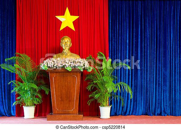Statue of Ho Chi Minh - csp5220814