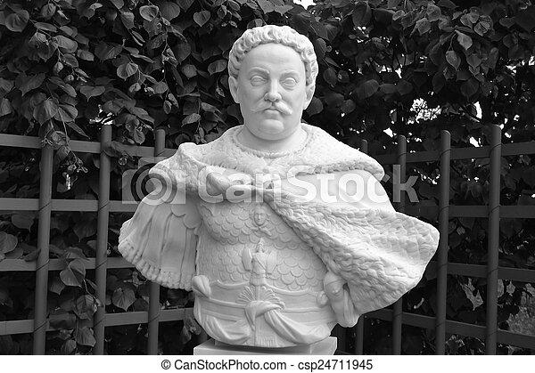 Statue of John Sobieski. - csp24711945