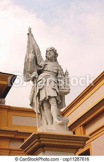 Statue of Leopold II in Melk Abbey - csp11287616