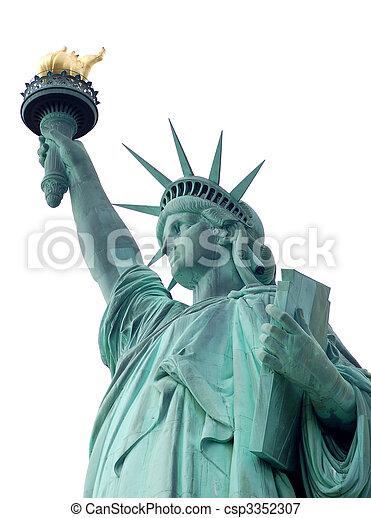 statue of liberty - csp3352307