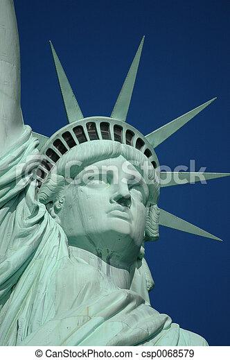 Statue of Liberty - csp0068579