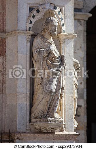 Statue of the Cappella di Piazza - csp29373934
