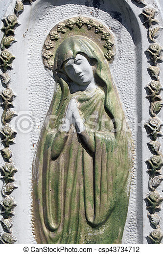 Statue Of Virgin Mary Statue Of Virgin Mary As A Symbol Of Love And