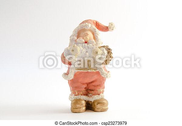 Statuette of Santa Claus - csp23273979