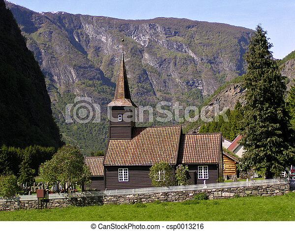 Stave Church (Norwa - csp0013216