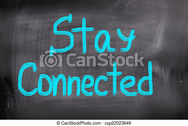 Stay Connected Concept - csp22023649