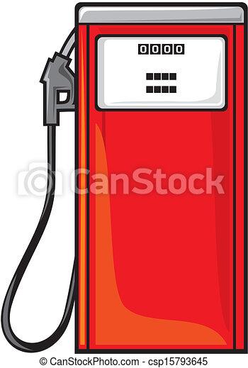 stazione benzina - csp15793645