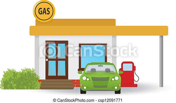 stazione, gas - csp12091771