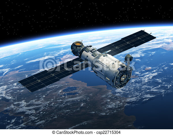 stazione spaziale - csp22715304